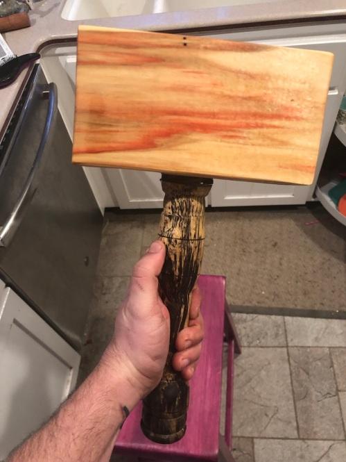 Tasha Bear's hammer